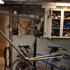 The frame in it's current state.  It's looking like a bicycle