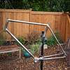 Current frame progress.  Pretty much everything is done except for cable routing brazeons and canti posts.