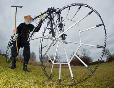 Really BIG wheel bicycles