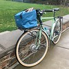 Ortelib Bike Basket on the bike