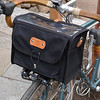 Acorn bag mounted on my bike.  The handlebars are 44cm wide Nitto Soma bars.