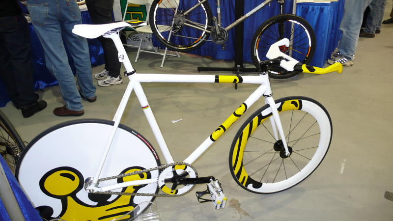 Independent Fabrication's Track Bike - It isn't a bike we'd ever ride, but this track bike was eye catching.