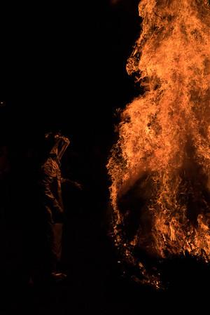Christmas Tree Fire 2015