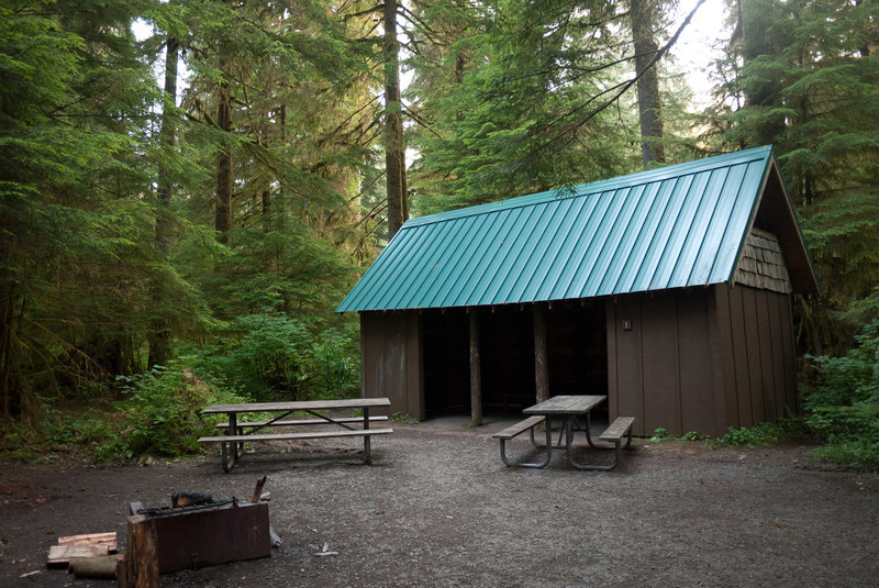 Another shelter at Wiley Group Camp (there are 3 total)