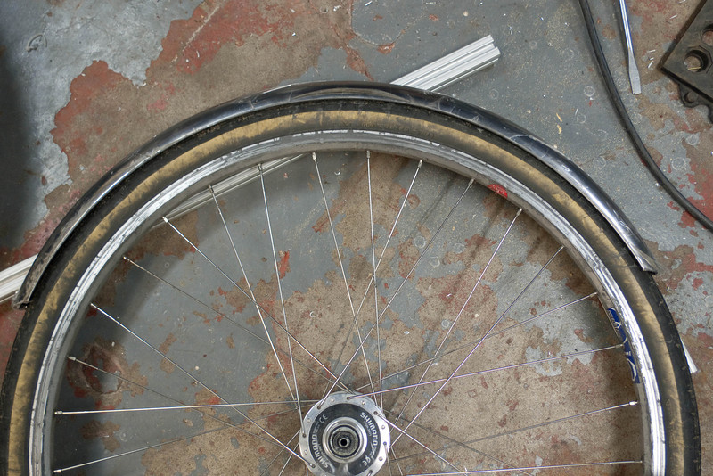 650x50mm fender with Trim Line tires