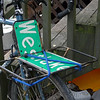Lee's rack.  The street sign was purchased from the City of Seattle for $5.  Westlake is where the monthly Critical Mass and weekly Point83 rides start.