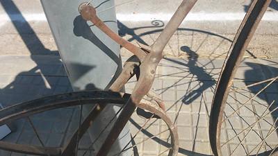 """Metal Draisine """"bicycle"""""""