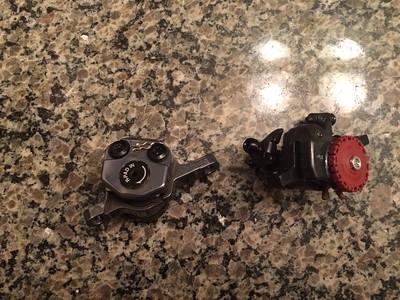shimano CX77 brake calipers, wonderful power