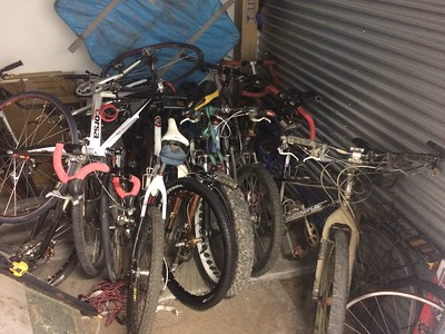 the ''Few'' bikes I have left at the storage place in minneapolis..