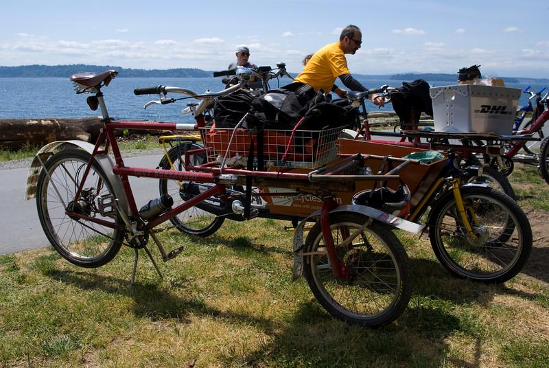 David Wilson Industries cargo bike