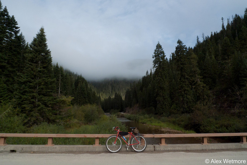Rawlands, fog, bridge