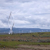New wind turbines near Cle Elum