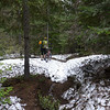 Snow hike a bike