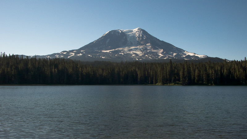 Mt Adams at Lake Takhlakh