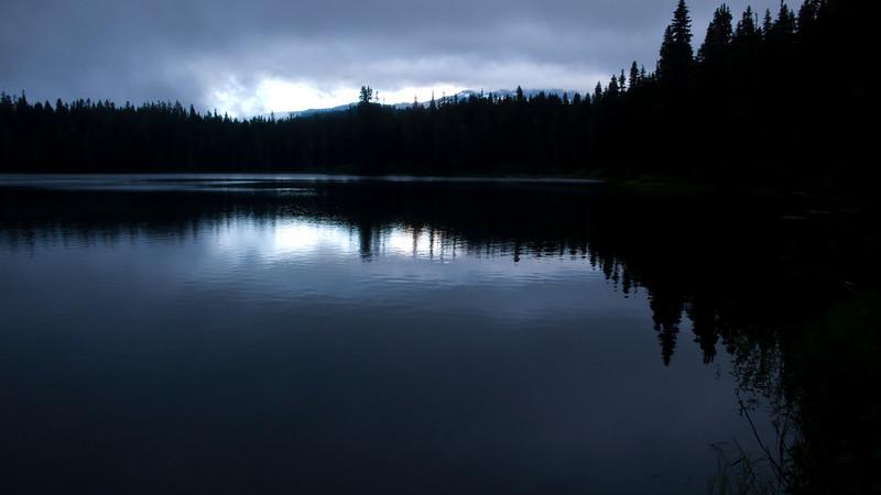 Early morning on Lake Takhlakh