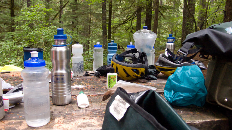 Our collection of water bottles