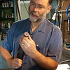 "Mark demonstrates using a ""wind up"" to clean out lugs.  Wear gloves!"