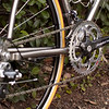 Campagnolo Chorus CT carbon cranks are plenty stiff enough for me.