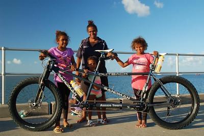Fat bike tandems