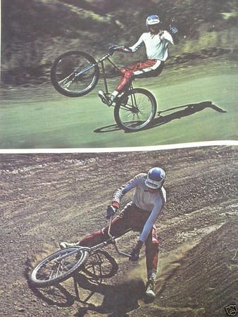 Richard Cuninnham & Champion BMX Frame