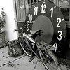 Bicyle and Clock