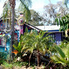 BIKING PINELLAS TRAIL, FLORIDA BOWLING BALL HOUSE NEAR SAFETY HARBOR
