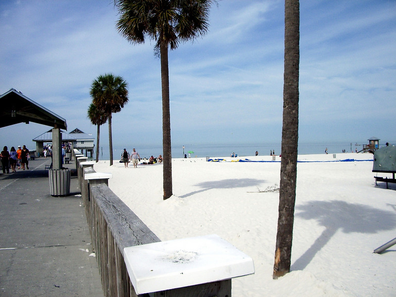 clearwater beach Flordia cycling before spring break