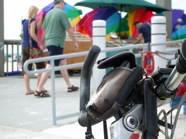 2014 Biking The Pinellas Bike Trail Florida