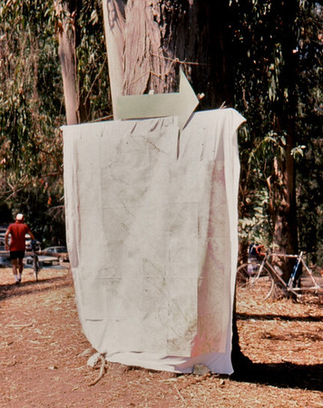 huge map <br /> Marvin roberts<br /> GPC 100, Island Picnic Area, Tilden Park, Berkeley<br /> 9-27-75 84-33