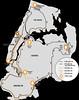 NY Century Ride map, 091204