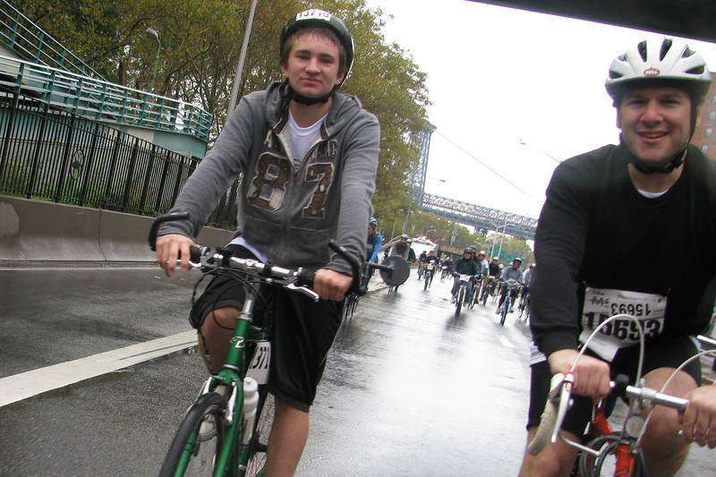 NYC MS Bike Ride 100508 - 28