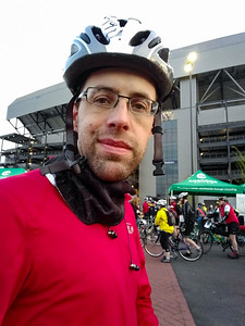 at the start of the Emerald City ride.