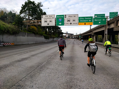 riding on the Express Lanes.