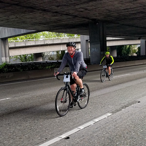 Jeremy (and Faith) on the Express Lanes.