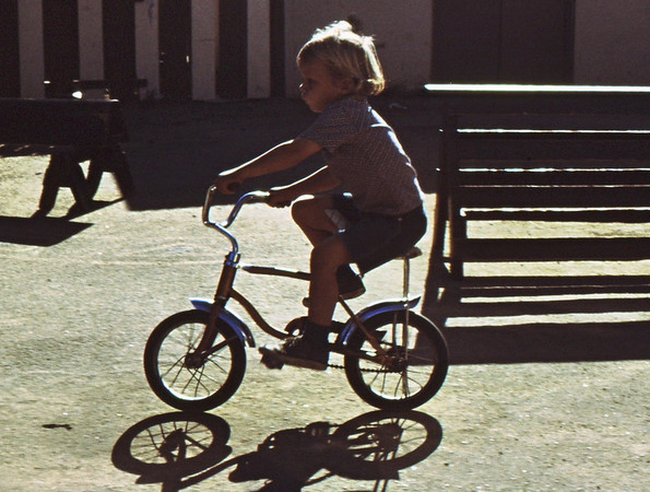 4*Thu, Sep 30, 1971<br /> People: Rob<br /> Subject: bike<br /> Place: Albany Child Care<br /> Activity: <br /> Comments: a natural