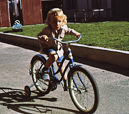 3*Fri, Sep 10, 1971<br /> People: Rob, my son<br /> Subject: bike  - Julie's<br /> Place: courtyard<br /> Activity: <br /> Comments: