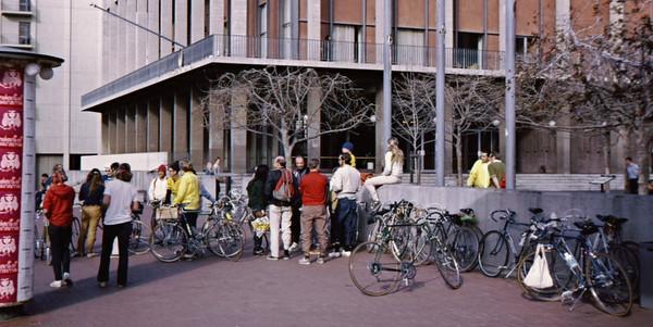 3*Sun, Mar 5, 1972<br /> People: ???<br /> Subject: GPP bie ride assemble<br /> Place: Sproul<br /> Activity: <br /> Comments: