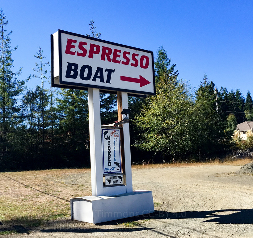Espresso Boat. As advertised.