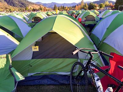 Jeremy's tent.