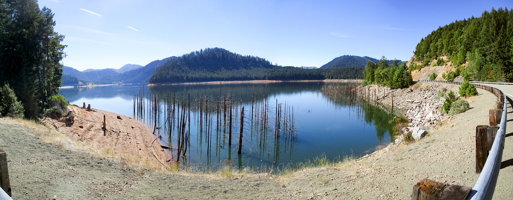 Galesville Reservoir panorama.