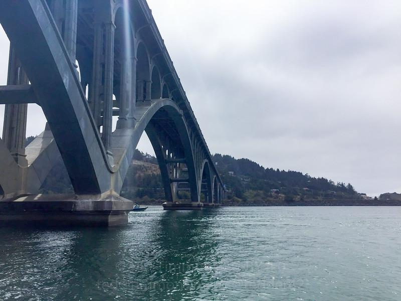 Rogue River Bridge.