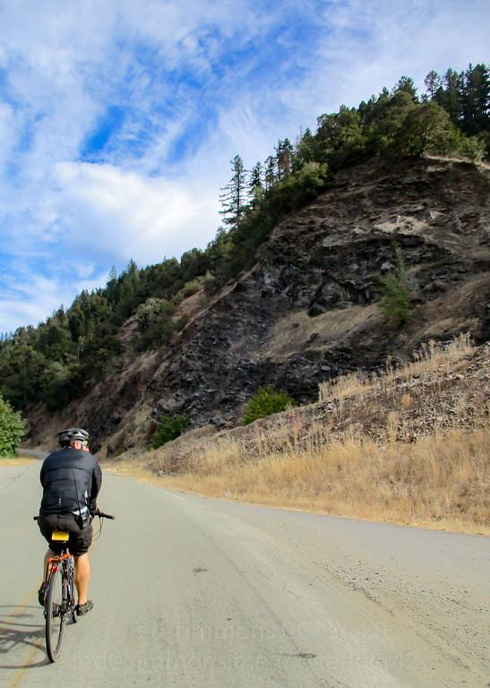 Jeremy on Cow Creek Road.