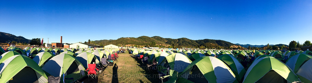 Tents! Mountains! Moon!