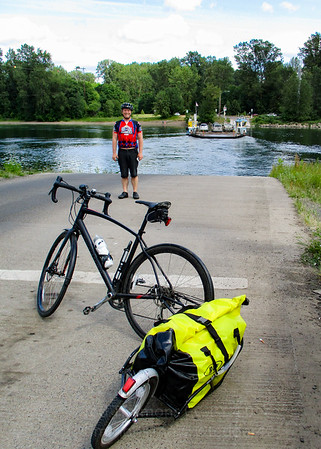 Jeremy at the Wheatland Ferry.