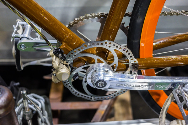Fixie brake system