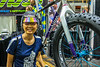Jet and 24 pound titanium and carbon fiber fat bike