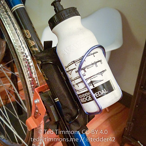 Tallac Behold tube/repair kit mounted to my Raleigh.