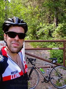Me. Bike. Gate.