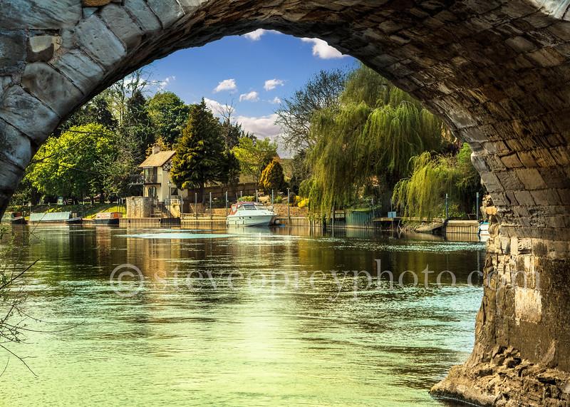 Under The Bridge At Bidford