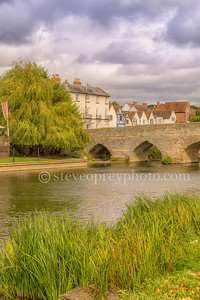 Bidford Bridge And River
